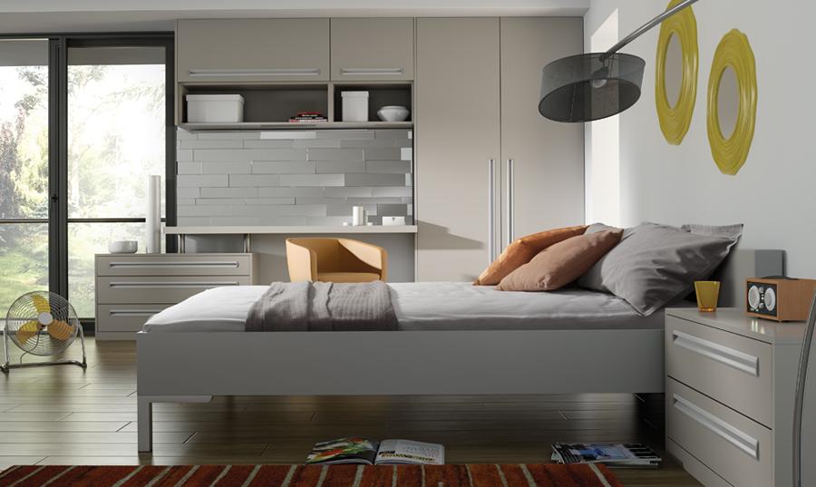 Matt Dove Grey Fitted Bedroom Wigan