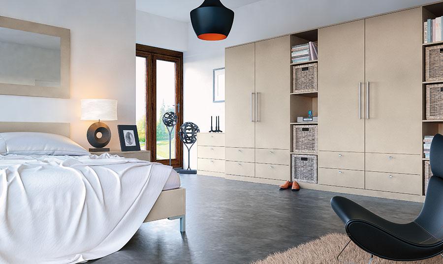 Matt Metallic Cashmere Fitted Bedrooms Wigan