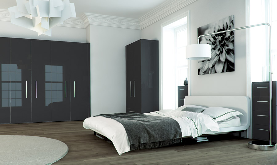 Metallic Anthracite Fitted Bedrooms Wigan