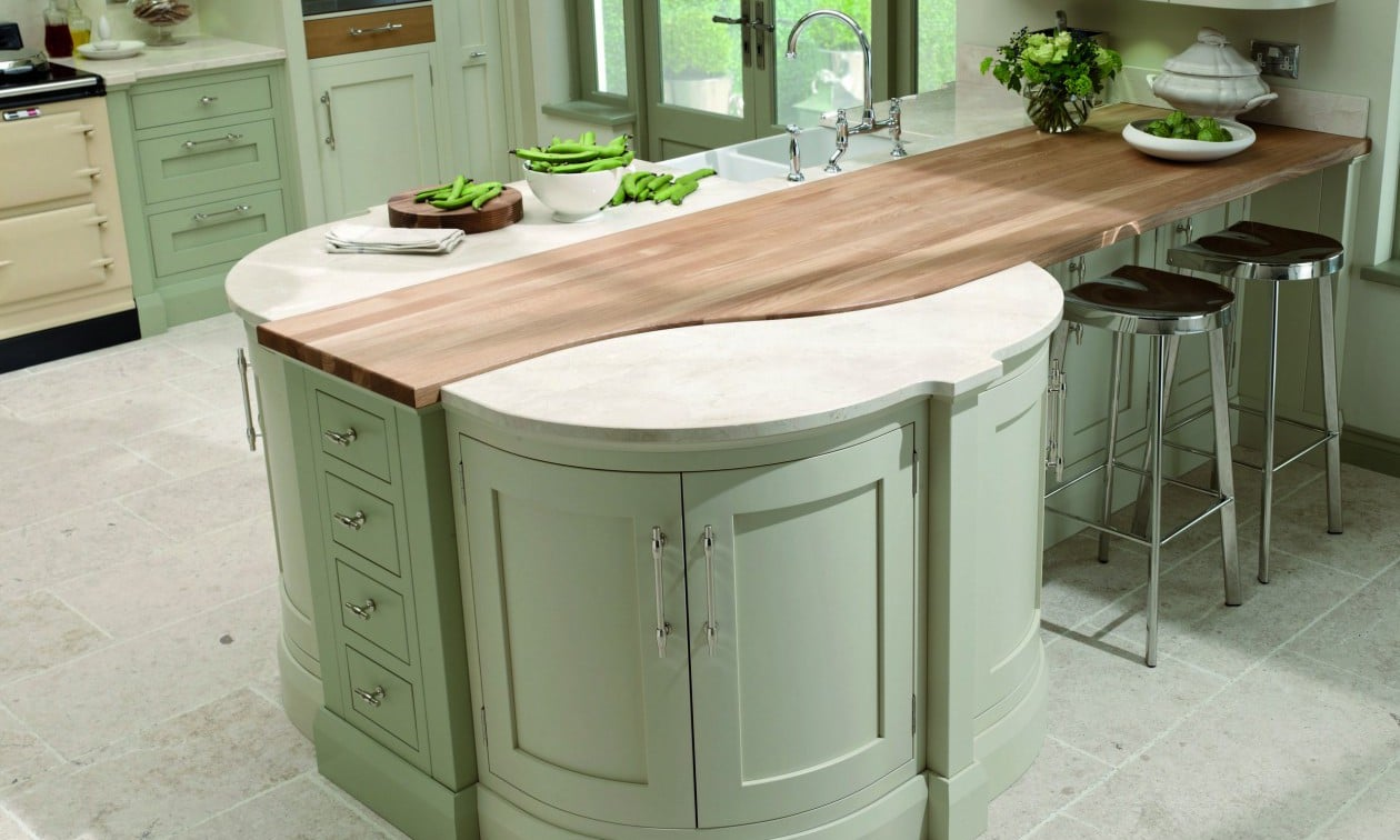 What Wood Are Kitchen Work Tops Made Of