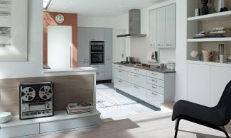 Porter Dove Grey Bespoke Fitted Kitchens Wigan