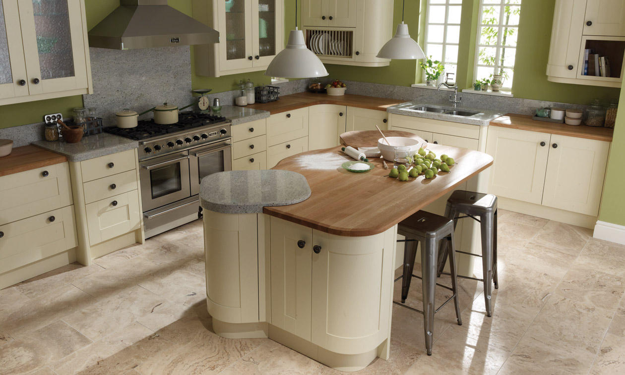 Broadoak Ivory  Bespoke Fitted Kitchens Wigan  Kitchen Emporium