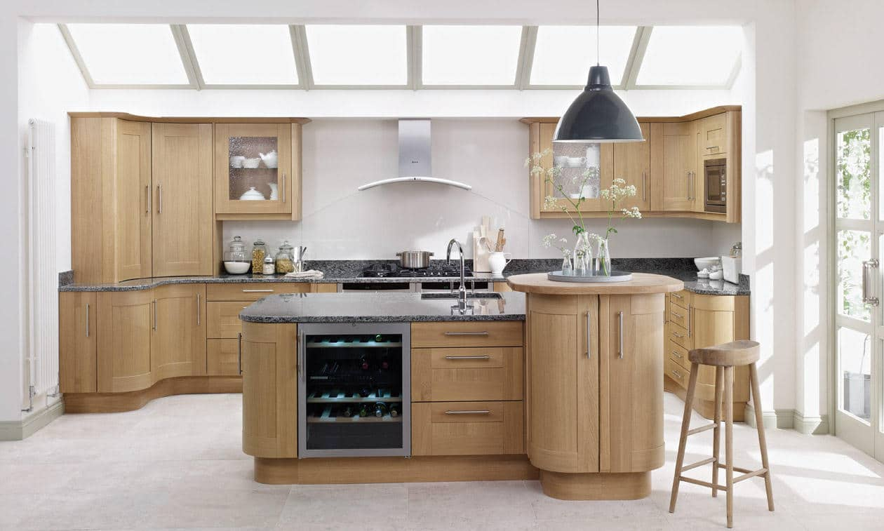 Broadoak Natural Bespoke Fitted Kitchens Wigan Kitchen
