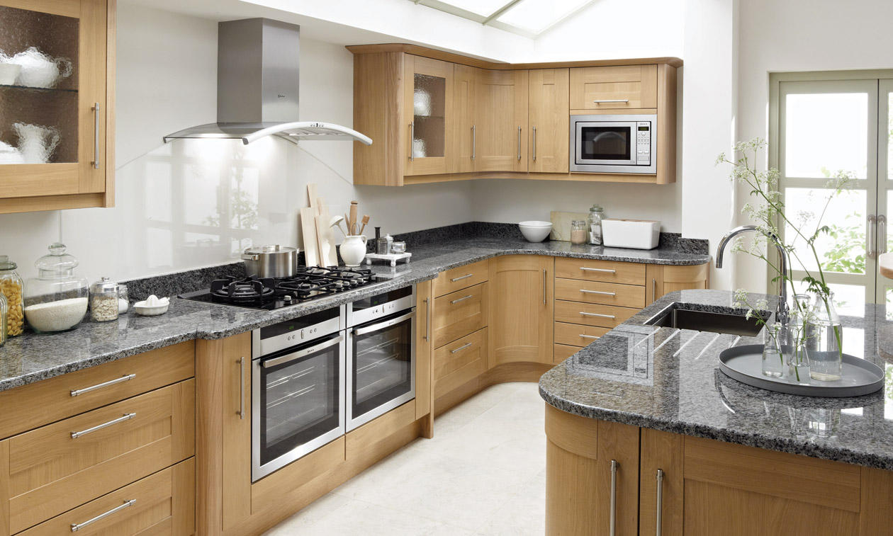 Broadoak natural bespoke fitted kitchens wigan kitchen for Fitted kitchen ideas