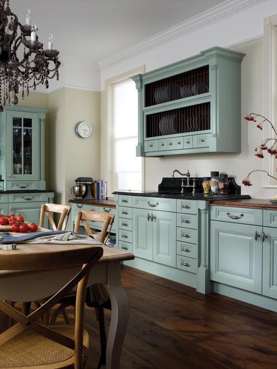 Cornell Painted Bespoke Fitted Kitchens Wigan