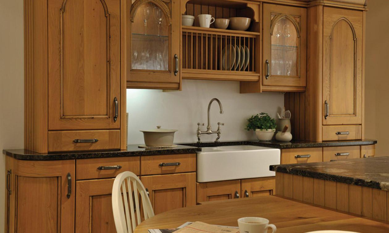 Oak dresser uk antique furniture warehouse antique for Oak fitted kitchen