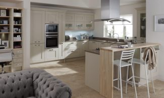 Milbourne Almond Bespoke Fitted Kitchens Wigan