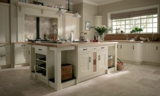 Milton Ivory Inframe Bespoke Fitted Kitchens Wigan