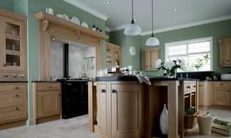 Milton Oak Inframe Bespoke Fitted Kitchens Wigan