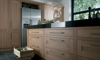 Milton Oak Inframe Bespoke Fitted Kitchens Wigan