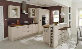 Porter Beige Bespoke Fitted Kitchens Wigan