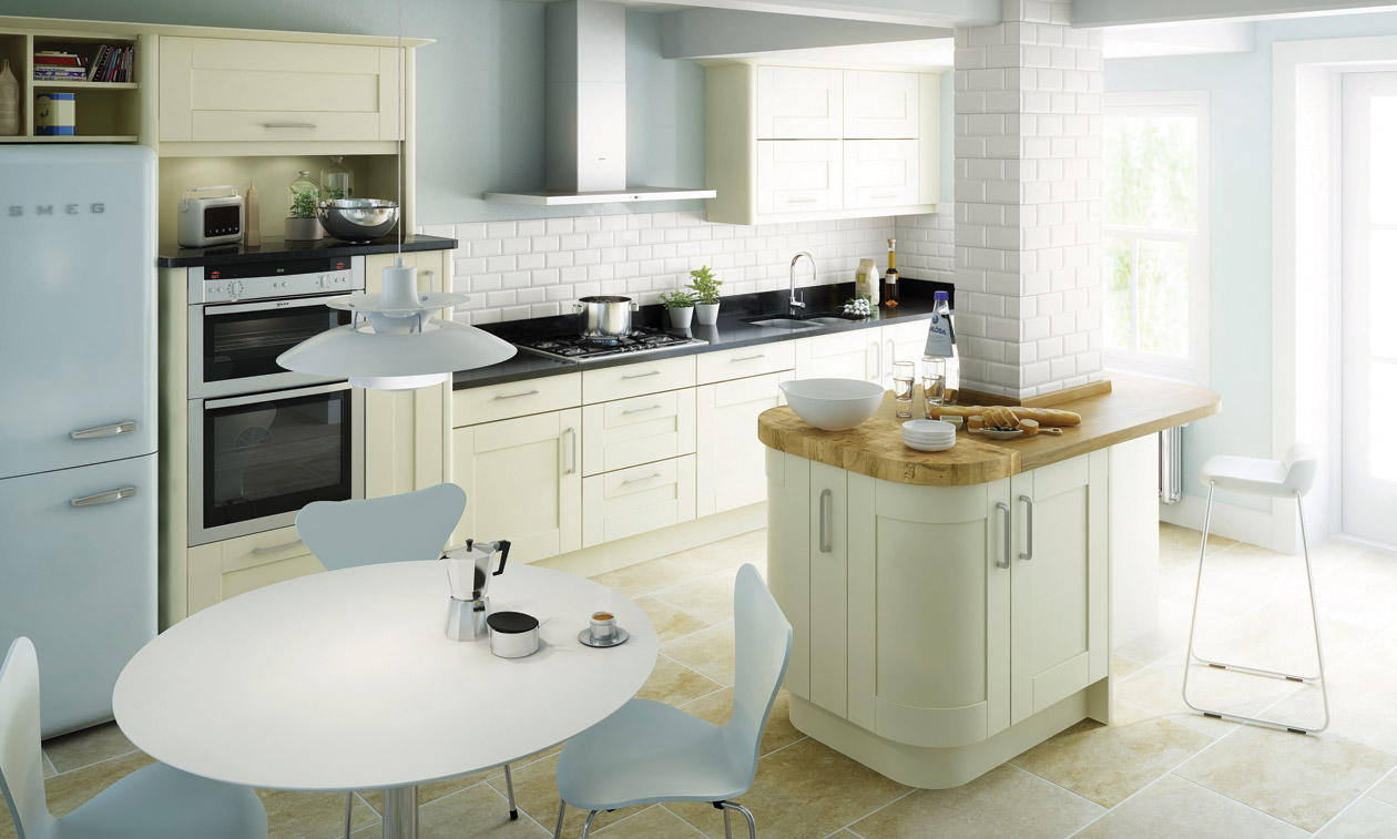 Fitted kitchens southport bespoke fitted kitchens - Fitted kitchens for small spaces set ...