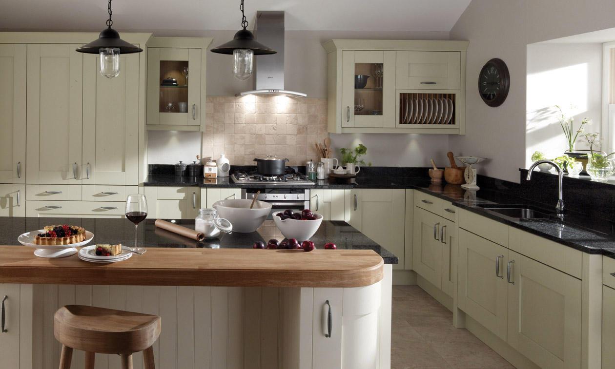 Milbourne Sage Fitted Kitchens Preston