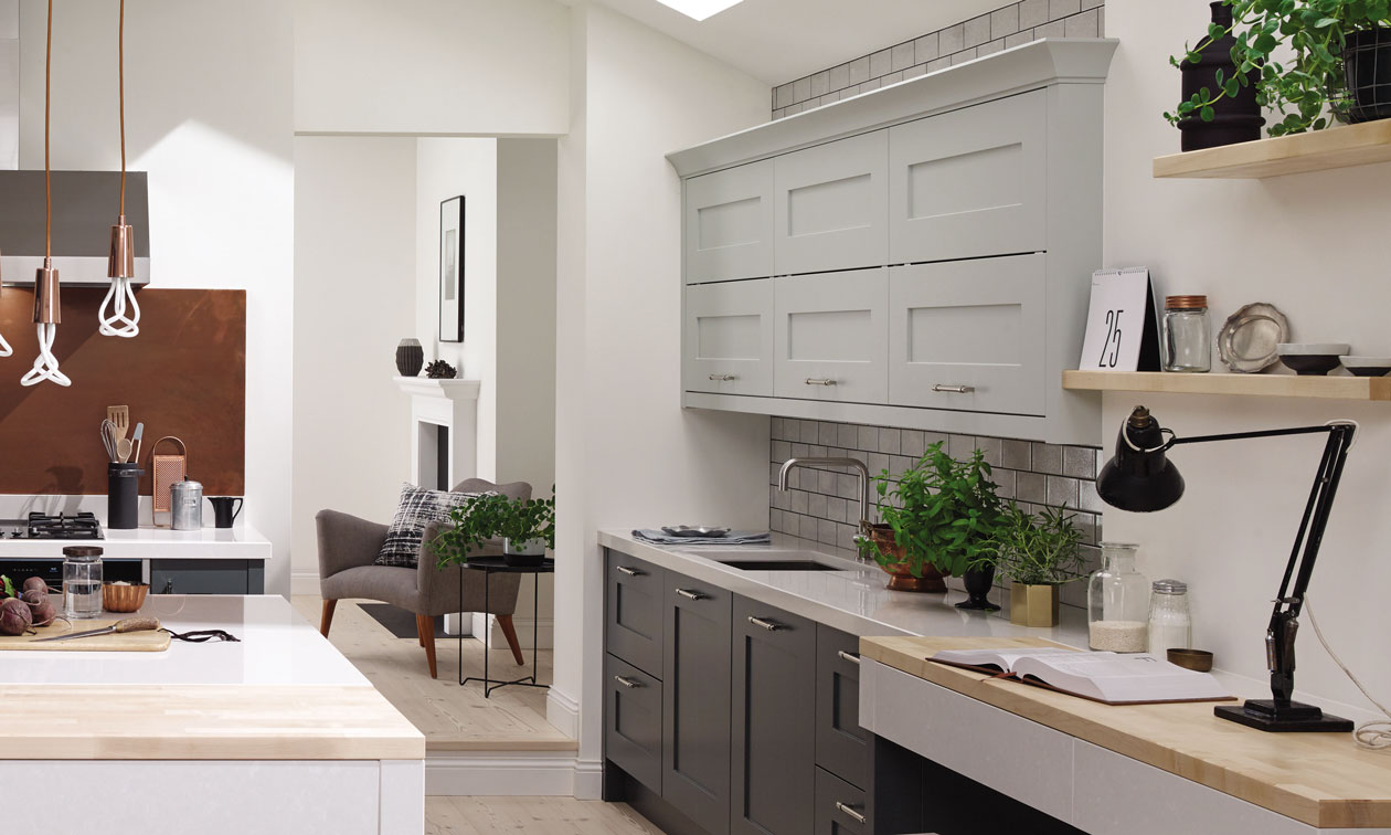 Second Nature Fitzroy Paint to Order Fitted Kitchens