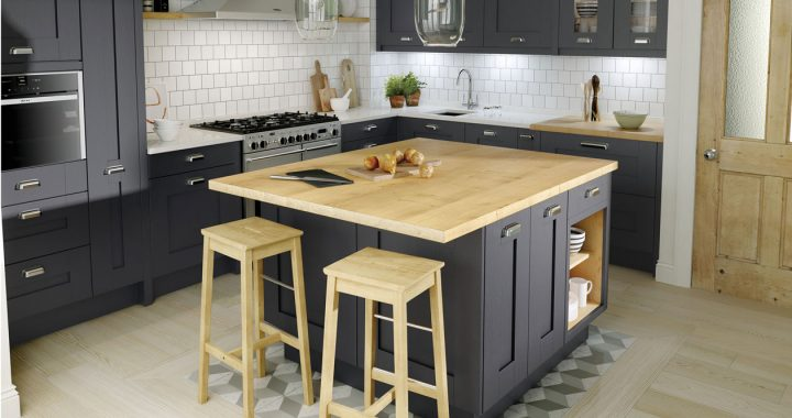 Second Nature Milbourne Charcoal Fitted Kitchens