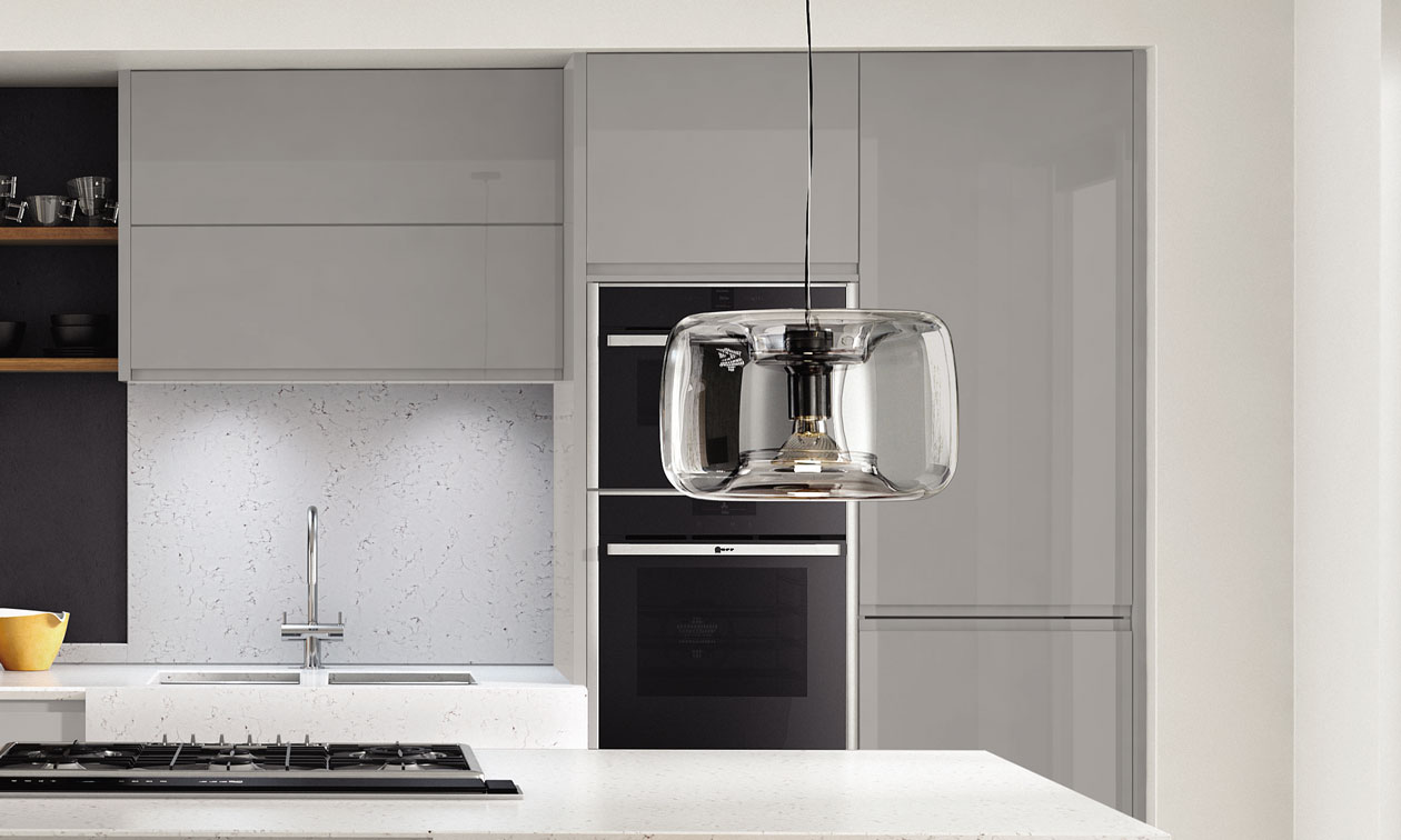 Image two of Second Nature Remo Silver Grey Fitted Kitchen