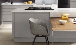 Image three of Second Nature Remo Silver Grey Fitted Kitchen