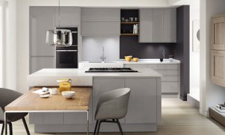 Image five of Second Nature Remo Silver Grey Fitted Kitchen