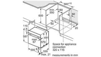 Neff B14M42N5GB Single Oven 6