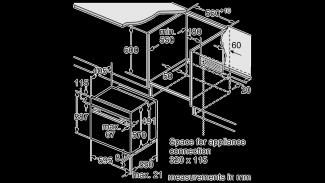Neff B14M42W5GB Single Oven 7