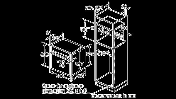 Neff B15CR32N1B Single Oven 6