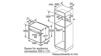 Neff B25CR22N1B Single Oven 6