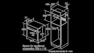 Neff B57CR22N0B Single Oven 6