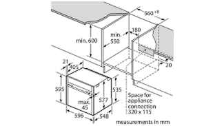 Neff B58VT68N0B Single Oven 10