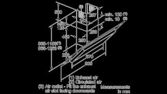 Neff D39GL64N0B Angled Chimney Hood 3