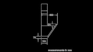 Neff D65IHM1S0B Angled Chimney Hood 9