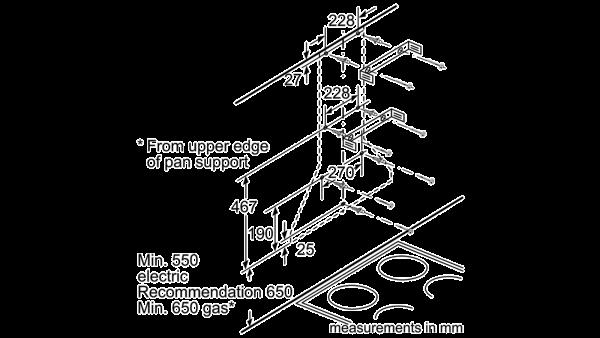 Neff D66B21N0GB Pyramid Chimney Hood 4
