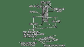 Neff D66SH52N0B Pyramid Chimney Hood 3