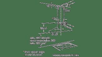 Neff D66SH52N0B Pyramid Chimney Hood 4