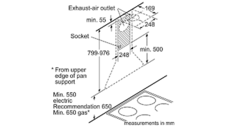 Neff D67B21N0GB Pyramid Chimney Hood 2