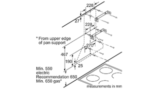 Neff D67B21N0GB Pyramid Chimney Hood 3