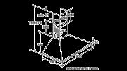 Neff D69B21N0GB Pyramid Chimney Hood 3