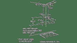Neff D76SR22N0B Box Chimney Hood 3