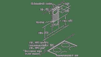 Neff D79MH52N1B Box Chimney Hood 8