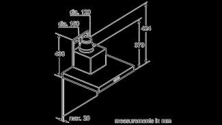 Neff D79MH52N1B Box Chimney Hood 9