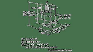 Neff D79SH52N0B Box Chimney Hood 2