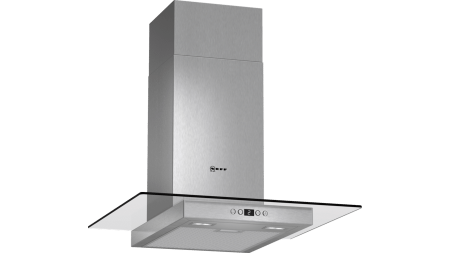 Neff D86EH52N0B Glass Chimney Hood 1