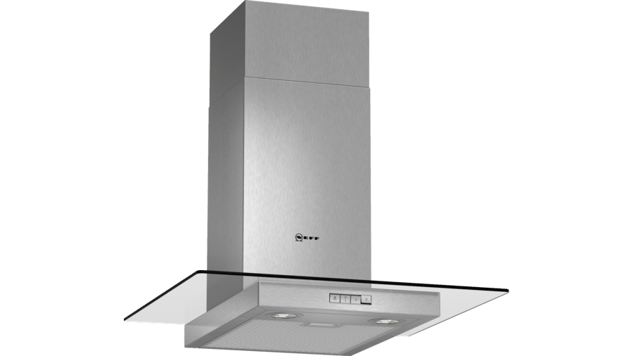 Neff D86ER22N0B Glass Chimney Hood 1