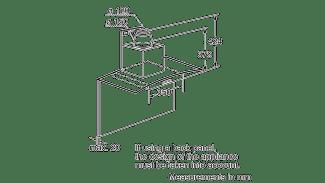 Neff D86GR22N0B Curved Glass Chimney Hood 2