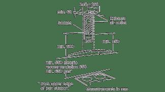 Neff D86GR22N0B Curved Glass Chimney Hood 3