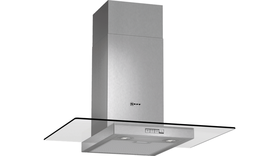 Neff D87ER22N0B Glass Chimney Hood 1