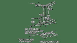Neff D89GR22N0B Curved Glass Chimney Hood 6