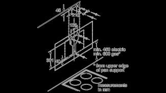 Neff D95IPU1N0B Angled Chimney Hood 8