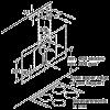 Neff D96IKW1S0B Angled Chimney Hood 8