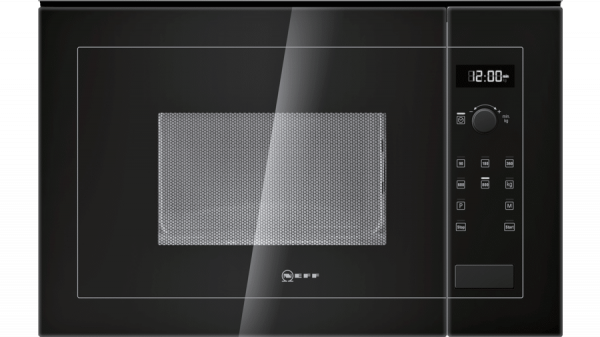 Neff H11WE60S0G Microwave Oven Black 1