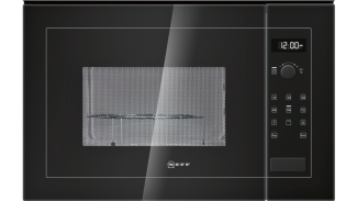 Neff H12GE60S0G Microwave Oven Black 1